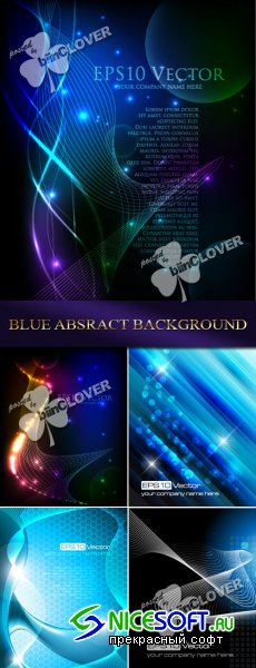 Blue abstract background 0102