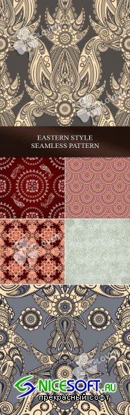 Eastern style seamless pattern 0102