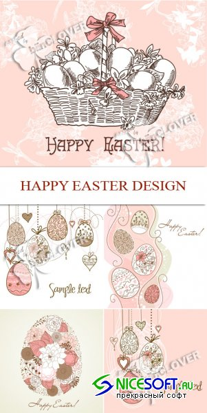 Happy Easter design 0102