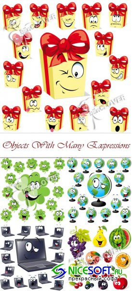 Objects with many expressions 0103
