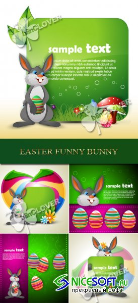 Easter funny bunny 0103