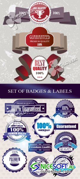 Set of badges and labels 0103