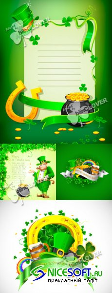 Saint Patrick's Day card 0104