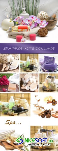 Spa products collage 0104