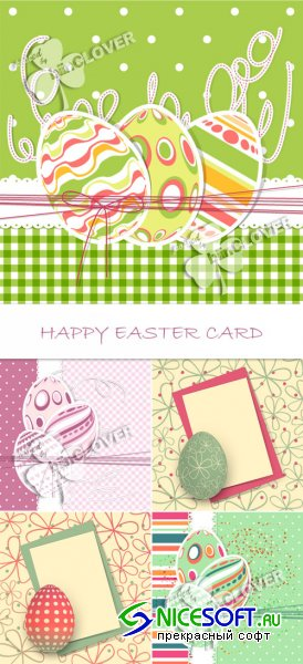Happy Easter card 0105