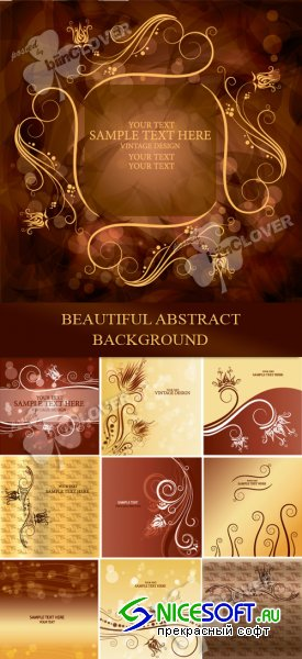 Beautiful abstract background 0107