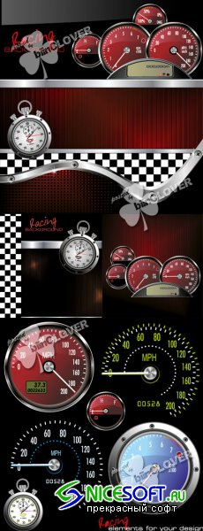 Speedometer background 0123