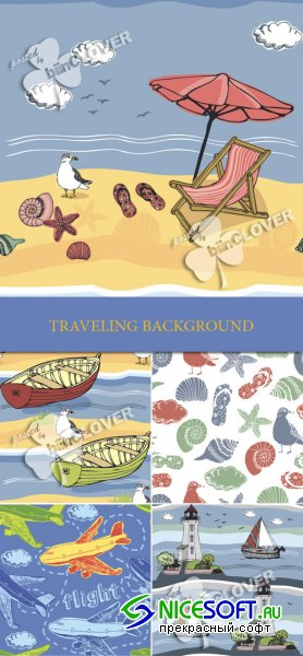 Traveling background 0147