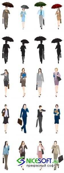 Business Vector People Pack #31