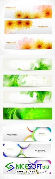 Creative Banners Vector Pack #31