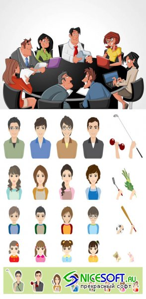 Vector People Pack #32