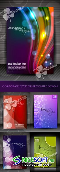 Corporate flyer or brochure design 0215