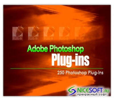 250 Plugins for PhotoShop