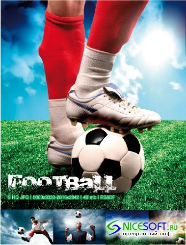 Stock Photo - Football Mix