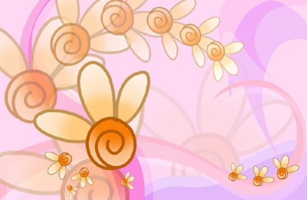 Psd template Flowers  from JuiceDrop 2921