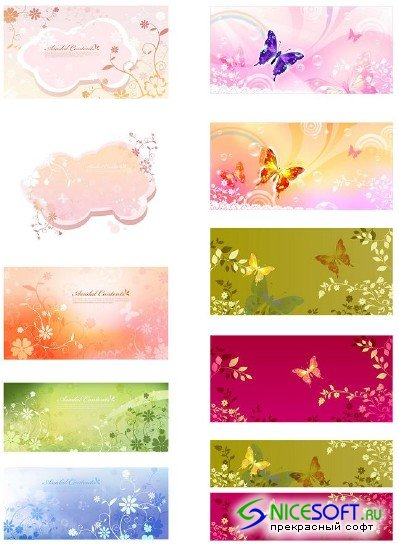 Butterfly Romantic Backgrounds