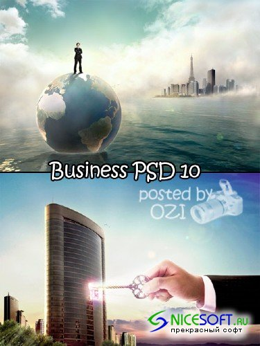 Business PSD 10
