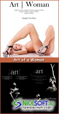 Art of a Woman - Stock Photos