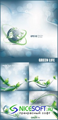 Stock Vectors - Green Life