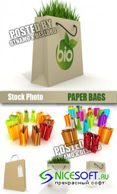 UHQ Stock Photo - Paper Bags
