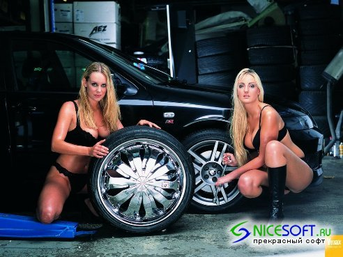 Cars and Girls wallpapers