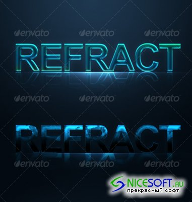 2 Text effect styles - GraphicRiver