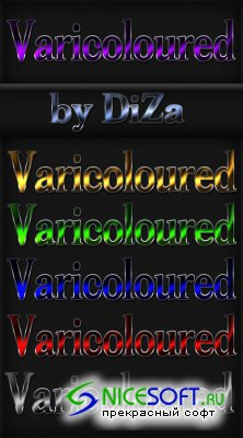Varicoloured Styles for Photoshop