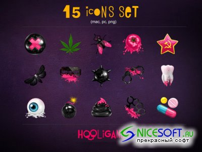 Hooligans Icons Pack