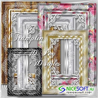 10 Stylish Framework and Styles to Create Picture Frames