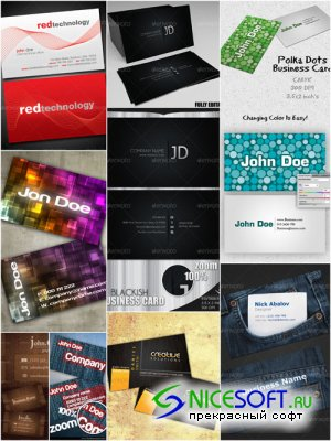 GraphicRiver - Ultimated Master Business Card Templates Pack 3