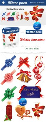 Premium Vector Pack – Holiday Decorations