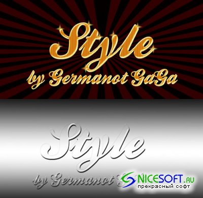 Colourful Styles for Photoshop by Germanot GaGa