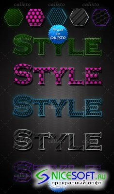 5 Colourful Photoshop Styles