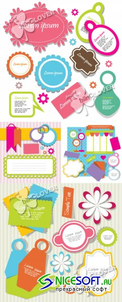 Cute scrapbook elements 0244