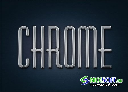 Styles for Photoshop - Metal Chrome Layer