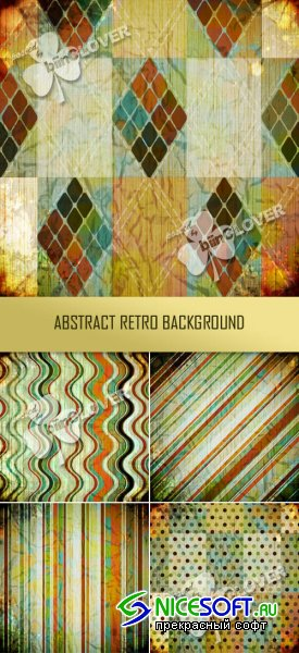 Abstract retro background 0348