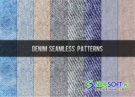 Denim Photoshop Patterns