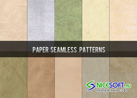 Paper Seamless Photoshop Patterns