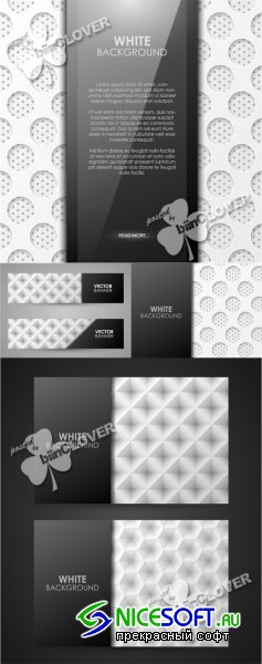 Geometric business cards and banners 0383