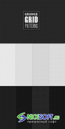 WeGraphics - Grunge Grid Patterns