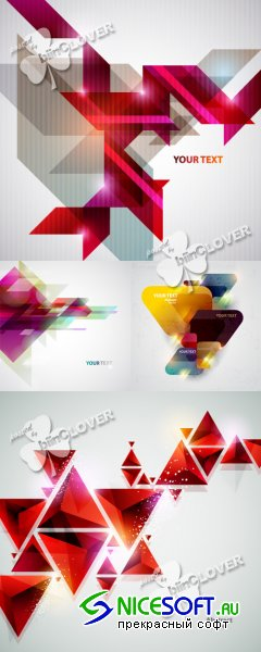 Abstract geometric background 0387