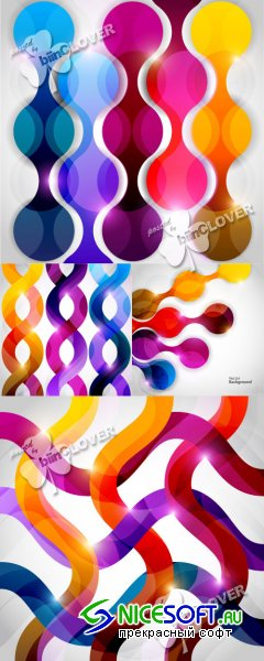 Bright abstract background 0394