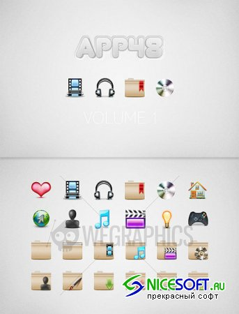 WeGraphics - App48 Vol1
