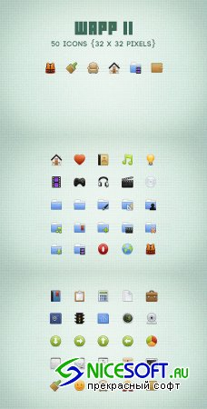 WeGraphics - Wapp, an icon set for web apps volume2