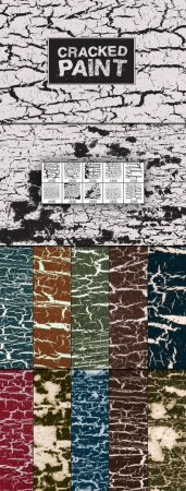WeGraphics - Cracked Paint Multi-Pack