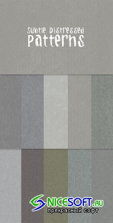 WeGraphics - Subtle Distress Photoshop Patterns