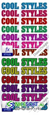 14 Cool Text Photoshop Styles