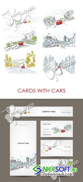 Cards with cars 0476