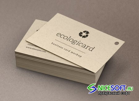Pixeden - Psd Business Card Mock-Up Vol12