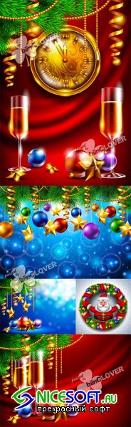 New Year background 0527